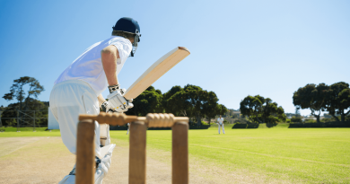 Cricket sports are popular across the world